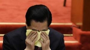 揭密:胡錦濤悲憤難抑 流著淚對習交待四個字