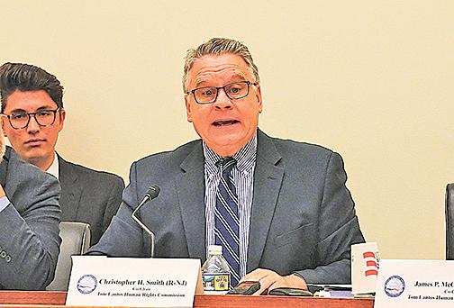 美重量級聯邦議員籲制裁迫害法輪功的中共官員