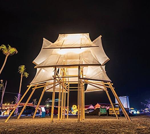 台灣燈會「帆城」獲德國紅點大獎