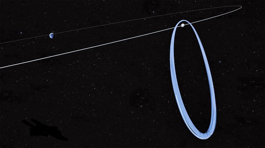 移民月球又邁出重要一步 美歐太空總署確定月龍門戶空間站軌道