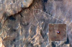 找找看 你發現火星車了嗎?