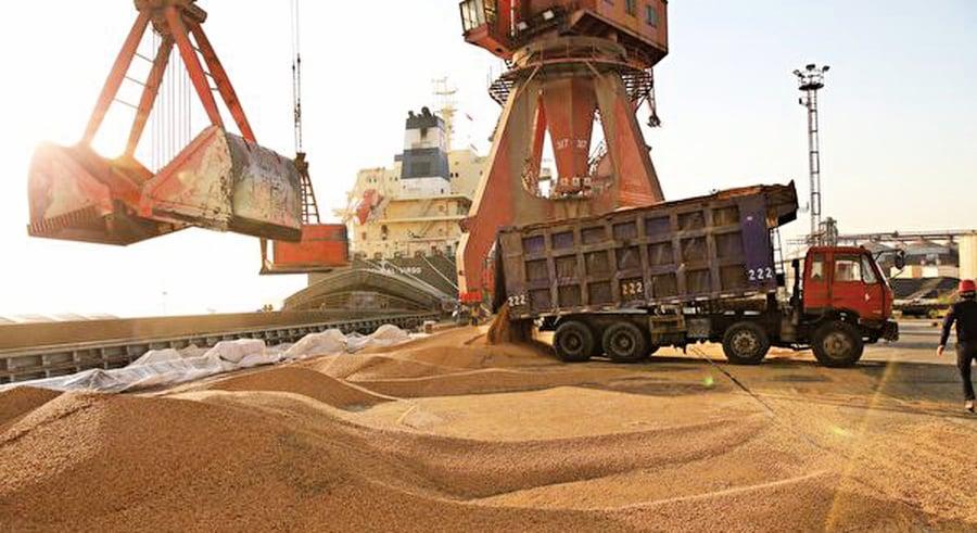 上海貿易談判前 中方買美大豆釋讓步姿態