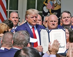 特朗普簽法案 延長911受害者賠償期限