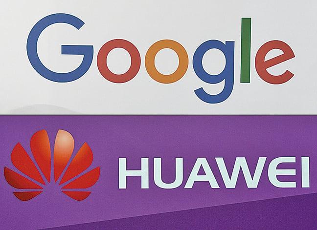 知情人士爆料,華為與谷歌曾合作開發智能音箱,但因美國在5 月祭出的華為禁令而終止。(AFP)