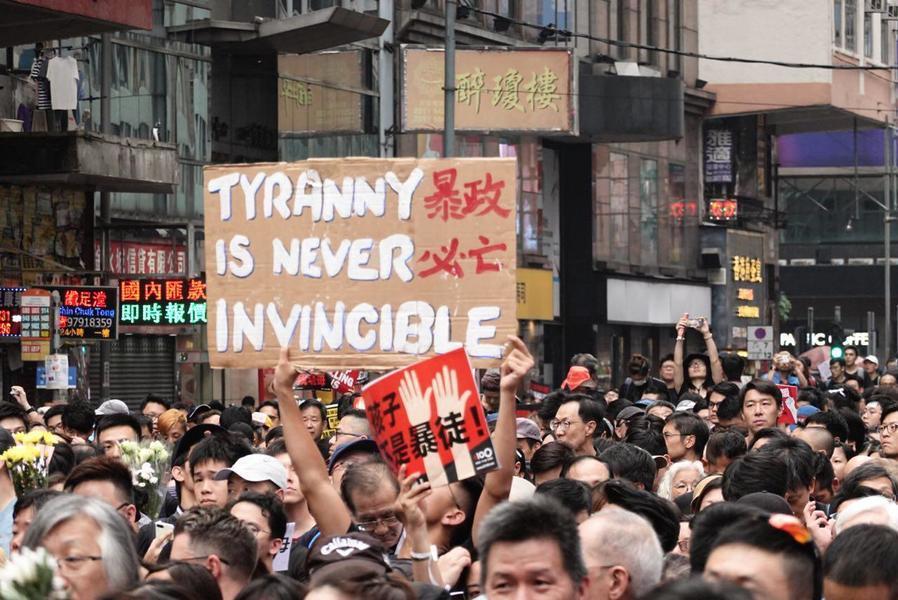 香港是全球抗共的前線