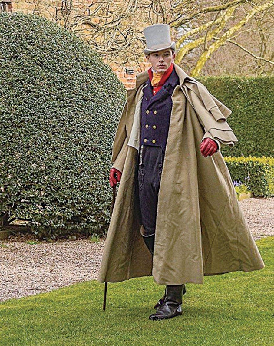 扎克平斯特的復古服裝時尚感十足,吸引很多粉絲。