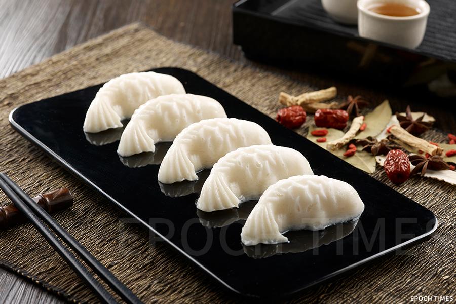 美滋鍋自製魚豆腐,口感順滑柔嫩。(受訪者提供)