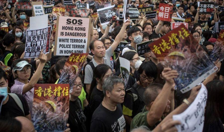 港府52部門逾千公務員 響應周一大罷工