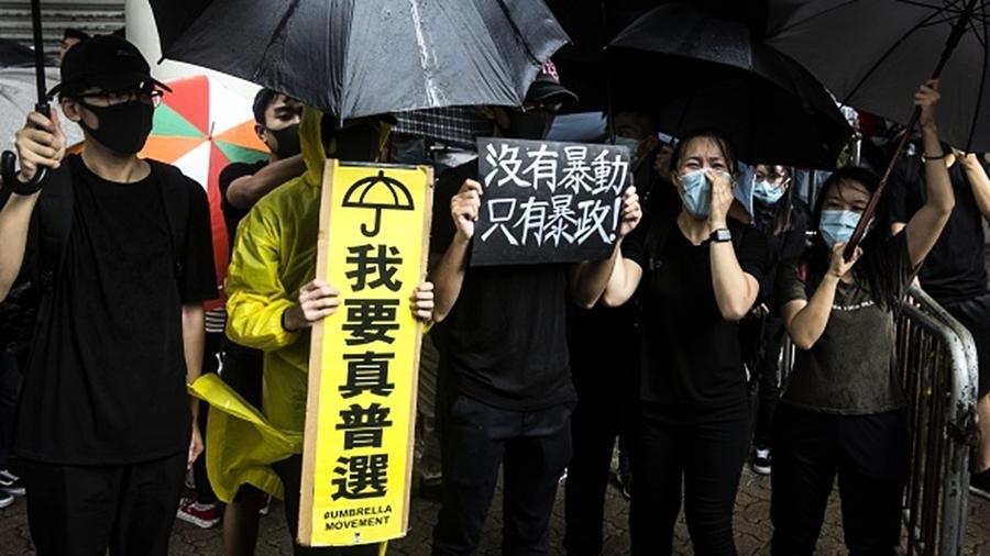 香港中資員工也要罷工:不怕打爛飯碗 無懼秋後算帳