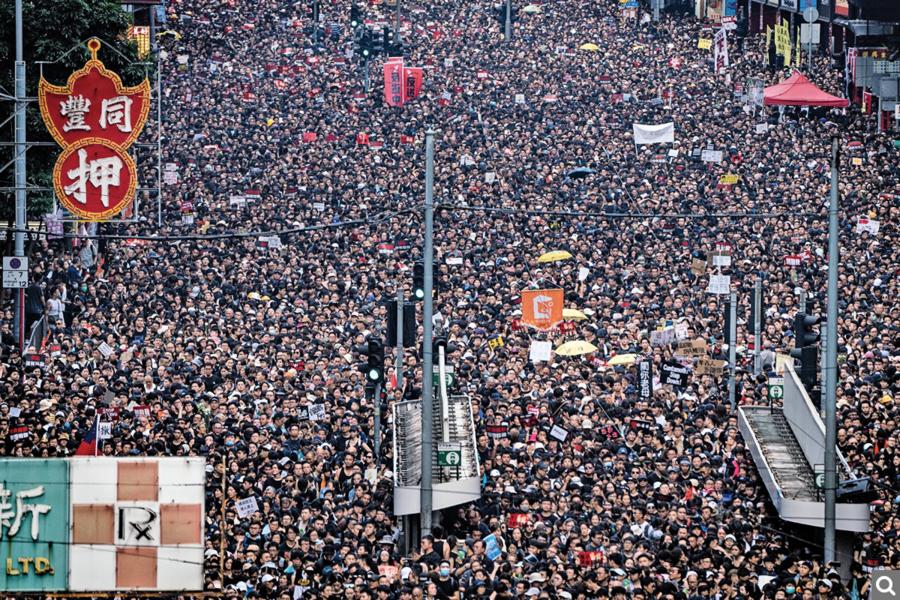 香港站在時代前沿 「成為新冷戰的熱點」