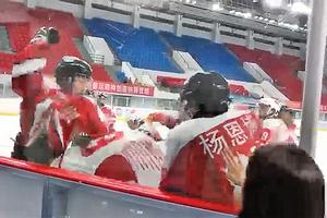 全國青運會冰球賽 香港隊遭大陸隊圍毆