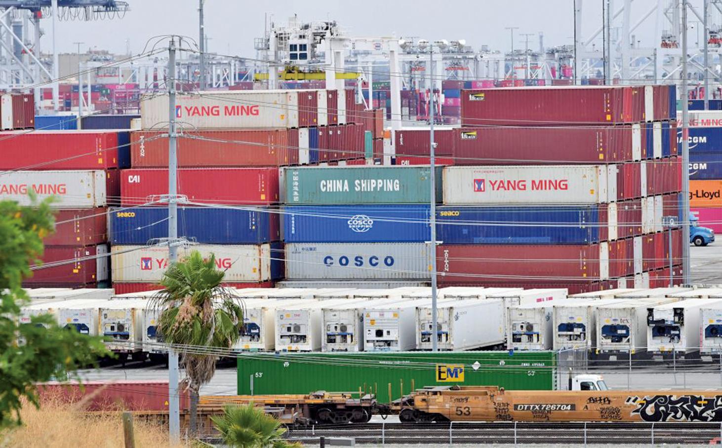 中國鋁業大亨劉忠田涉嫌逃稅,被美國大陪審團起訴。圖為中國進口產品。(AFP)