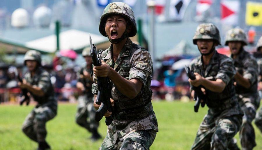 出兵香港? 法媒:中共派軍隊介入是自殺核彈
