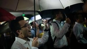 反送中85大罷工 香港34家銀行加入