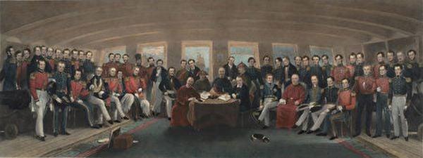英清雙方簽定《南京條約》(維基百科公有領域)