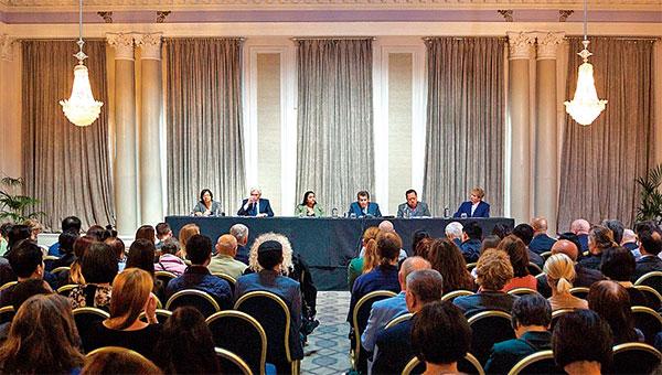 「人民法庭」於2019年6月17日在倫敦宣判結果,判定中共活摘良心犯器 官的行為仍然存在,法輪功學員是器官供應的最主要來源。( 冠奇/大紀元)