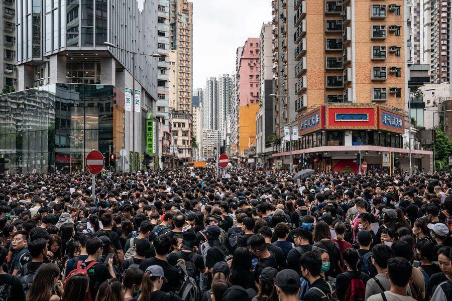 【8.5反送中】港95個工會部門籲罷工 多個建築工地關閉