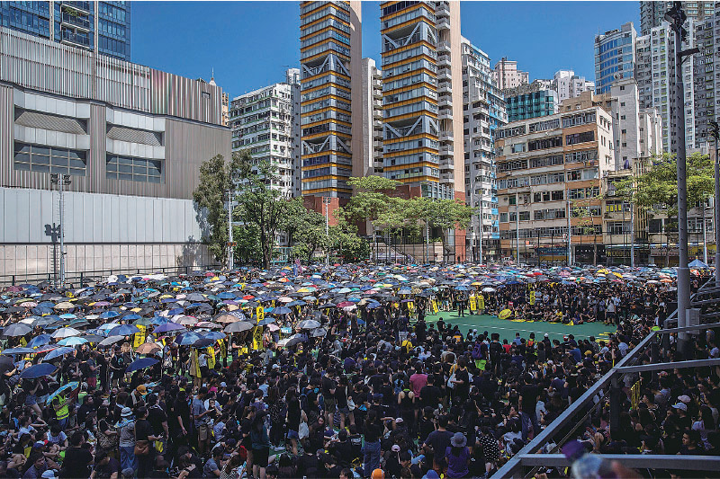 市民響應8.5大罷工