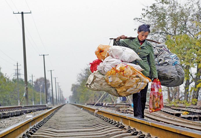 貿易戰造成大陸就業不穩。圖為資料照。(Getty Images)