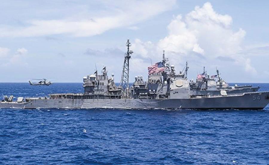 中美對決 美軍方四大動作緊逼中共