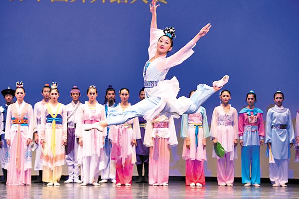 「全世界中國古典舞大賽」亞太初賽定於8月1日在旺角麥花臣場館舉行。(大紀元資料圖片)