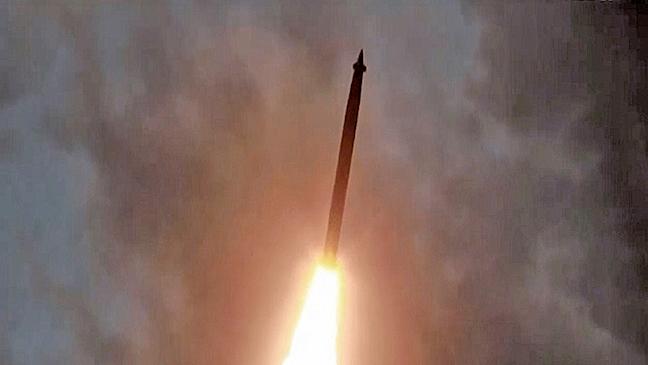 北韓兩周內第四次試射導彈