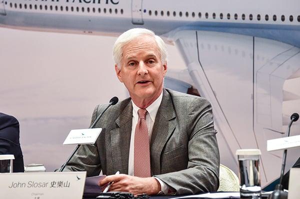 下半年機位受影響 國泰中期盈利13.47億元