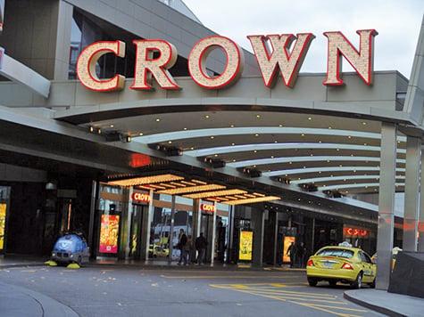 位於澳洲墨爾本的Crown賭場。(大紀元)