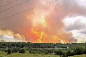 西伯利亞彈藥庫爆炸 至少九死傷