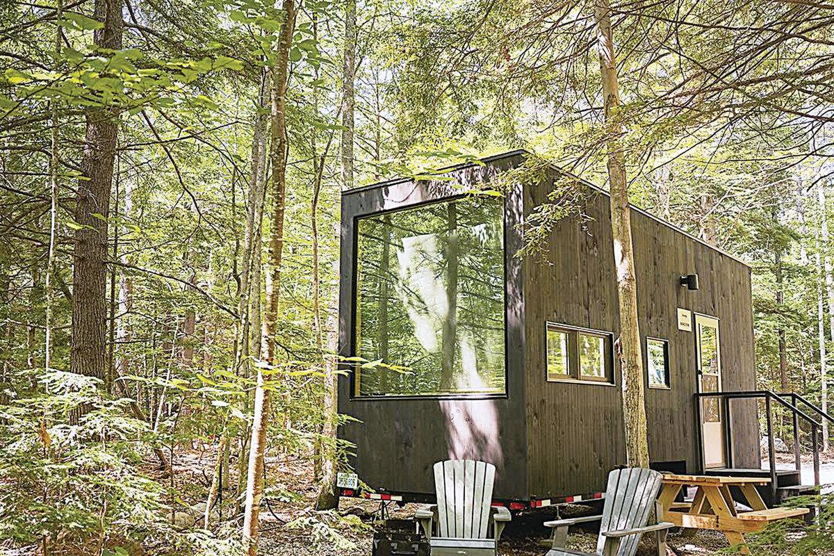 移動小屋外形簡單,但內部配備齊全。(Getaway Facebook)