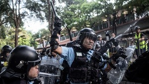 費加羅報:大批陸警混入港警 林鄭已失警隊控制權