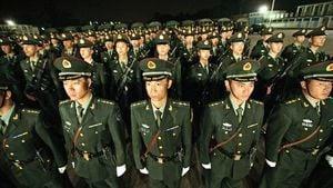 中共已秘密軍管香港?網曝至少7萬便衣潛入香港