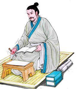 蘇秦讀書晚上犯睏的時候,就用錐子扎自己的腿。(圖/素素)