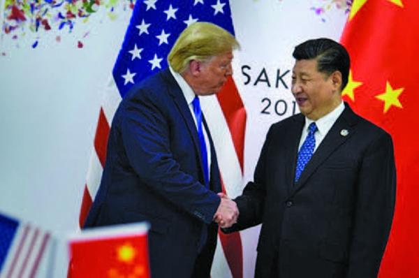 6月29日,習特會落幕。(AFP)