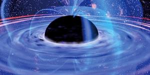 為太陽質量四百億倍 距地七億光年存最大黑洞