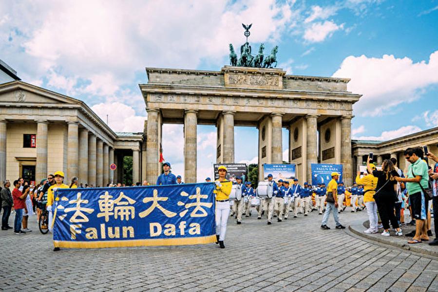 德國法輪功首都反迫害國會議員致函支持