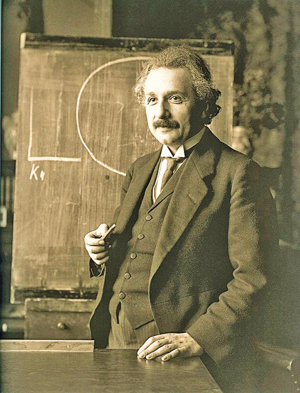 愛因斯坦。(Wikimedia Commons)