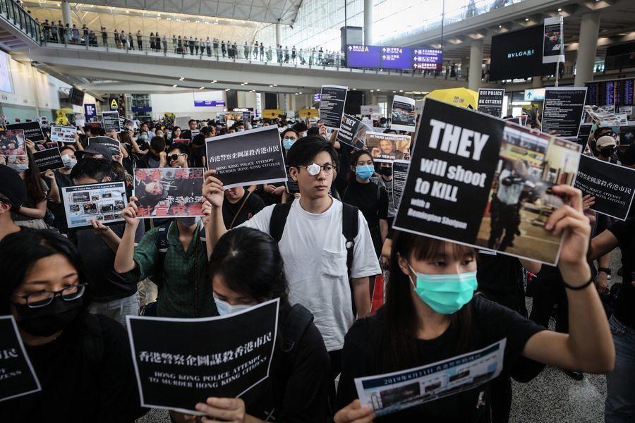港人遭暴力鎮壓 美國多位議員譴責中共