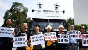 港警混入人群挑起衝突 警務處承認有「喬裝」行為