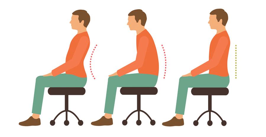 坐在椅子前端最好 ?  久坐不傷身的三大秘訣