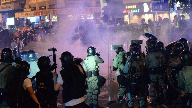 針對香港警黑勾結凶殘血腥鎮壓示威者,聯合國人權事務高級  專員巴捨萊,13日呼籲展開「立即、獨立與公正」的調查。(  宋碧龍/大紀元)