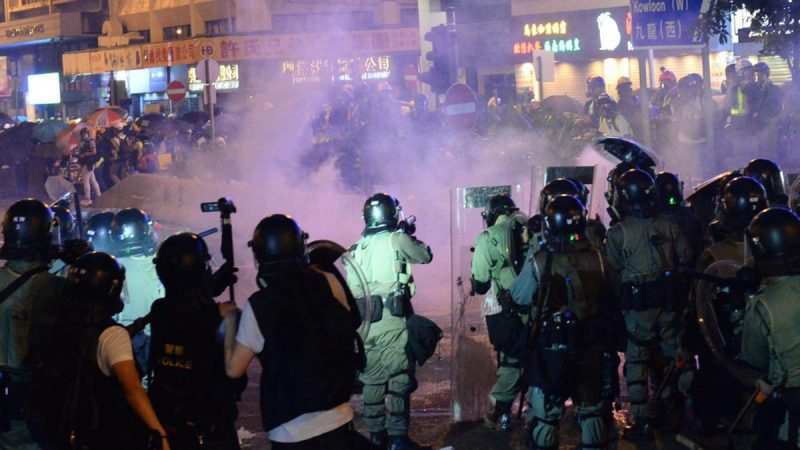 港警暴力升級 聯合國籲獨立調查