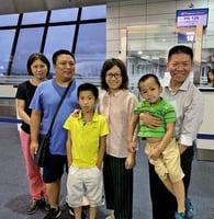 維權律師陳建剛舉家逃離中國抵美