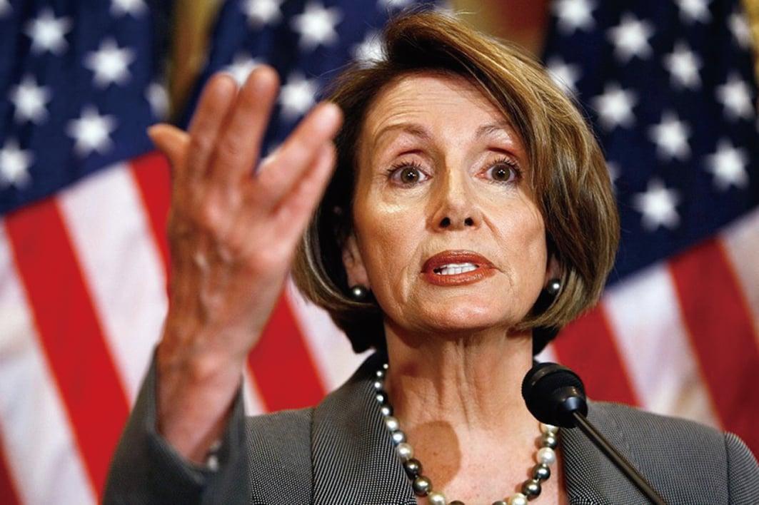 周二(8月13日),美國國會眾議院議長佩洛西(Nancy Pelosi)發表聲明,譴責中共對香港人民的暴力持續升級。圖為佩洛西。(Getty Images)