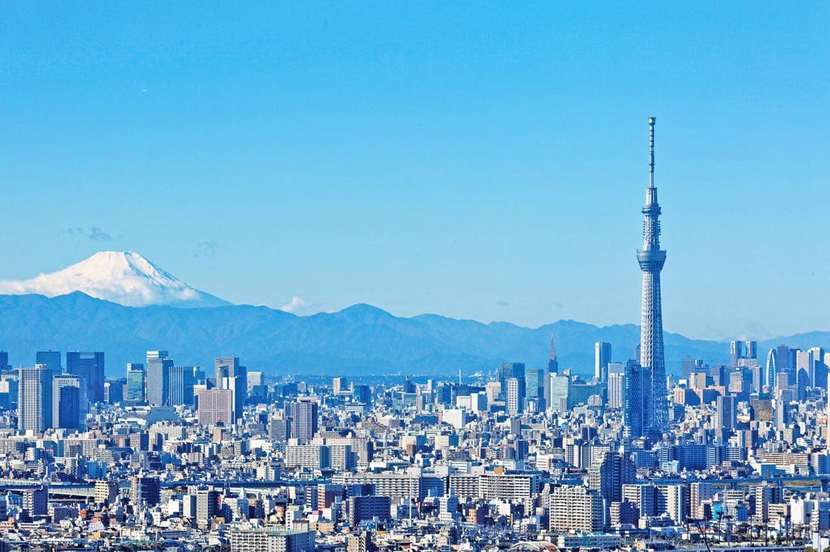 東京奧運會後,東京樓市行情走向備受關注。圖為東京市區。(PIXTA)