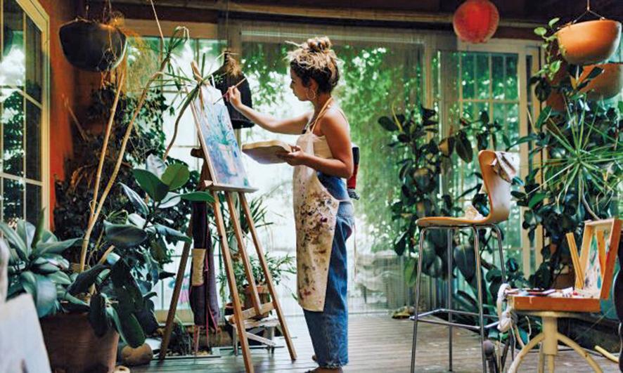 藝術活動可培養創造力  具有治癒功效