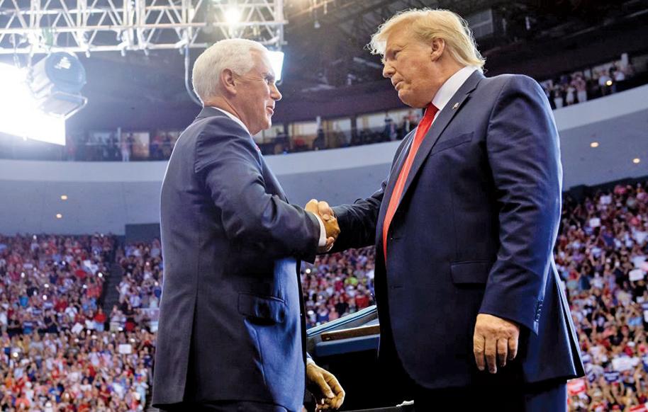 2020大選 特朗普確認彭斯是競選搭檔