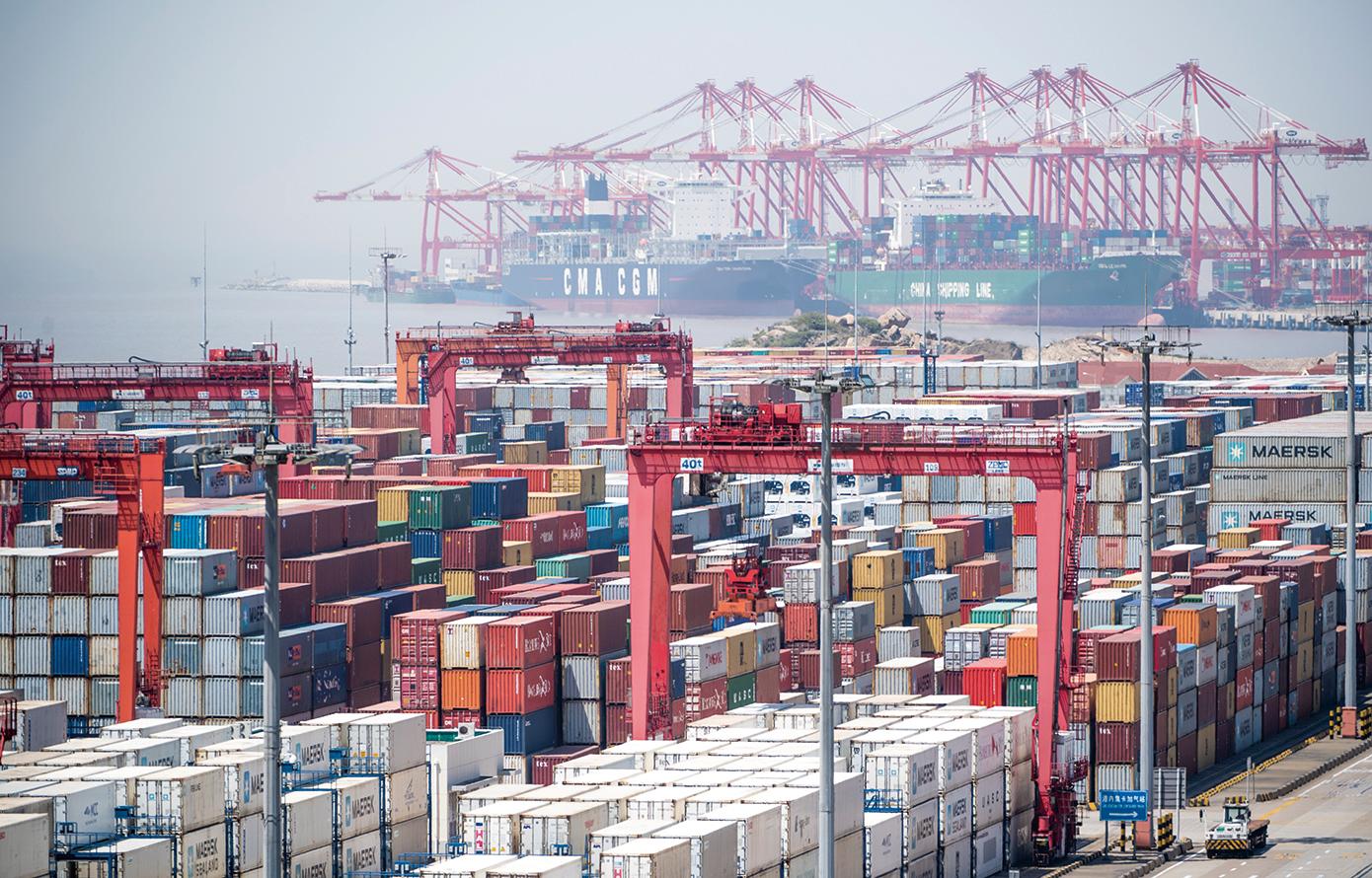 白宮首席經濟顧問庫德洛8月18日表示,中美電話會談帶來積極消息。(AFP)