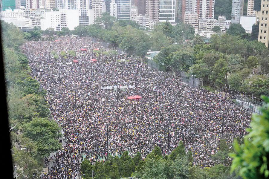 【北京觀察】香港「反送中」意志壓過中共邪惡手法