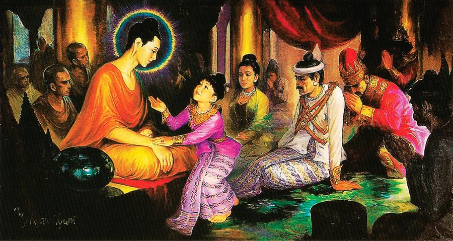 釋迦牟尼與他的家人(下)